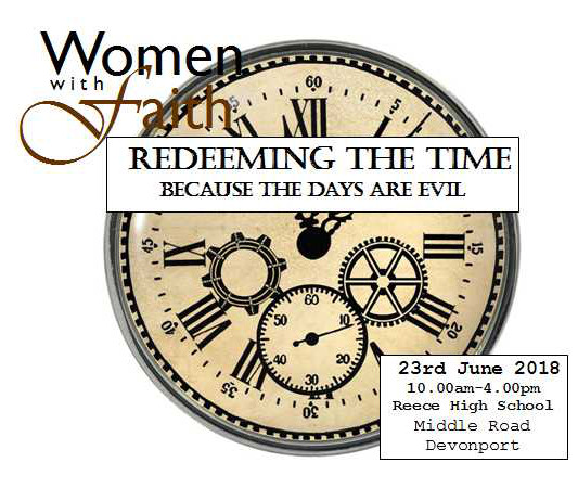 Redeeming the time June 23 2018 at Reece High